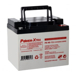 Power-Xtra PX40-12N M5 / 12V 40 Ah Bakımsız Kuru Akü