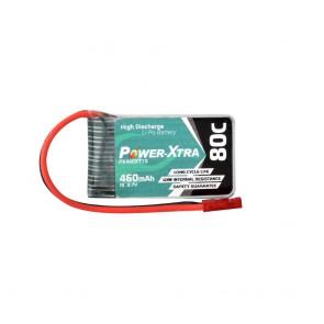 Power-Xtra PX460XT1S - 1S1P - 3.7V 460 mAh Li-Polymer Pil -80C