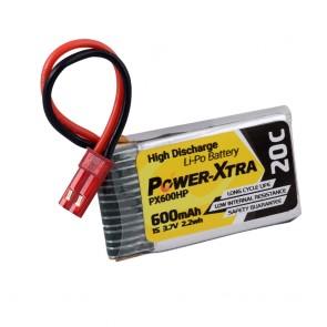 Power-Xtra PX600HP -1S1P- 3.7V 600 mAh Li-Polymer Pil -20C