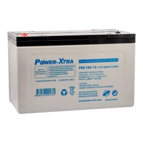 Power-Xtra PXG100-12 / 12V 100 Ah Bakımsız Jel Akü