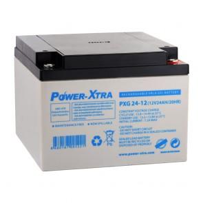 Power-Xtra PXG24-12 / 12V 24 Ah Bakımsız Jel Akü