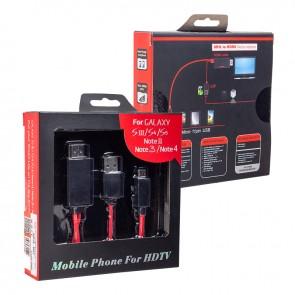 POWERMASTER HC-18 MHL KİT SAMSUNG S3-S4 HDMI TV BAĞLANTI KABLOSU