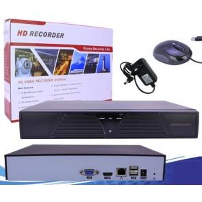 POWERMASTER IP4-720PNVR 4 KANAL NVR KAYIT CİHAZI (720P)  2MP DESTEKLEMEZ