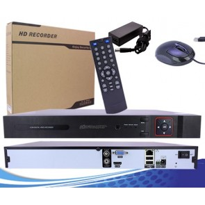 POWERMASTER IP8-720PNVR 8 KANAL NVR KAYIT CİHAZI (720P)  2 MP DESTEKLEMEZ