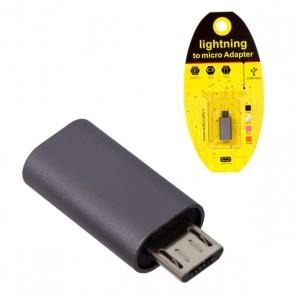 POWERMASTER IPHONE TO SAMSUNG MICRO USB ÇEVİRİCİ OTG APARAT