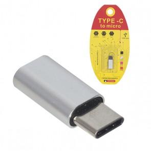 POWERMASTER MICRO USB TO C TYPE ÇEVİRİCİ OTG APARAT