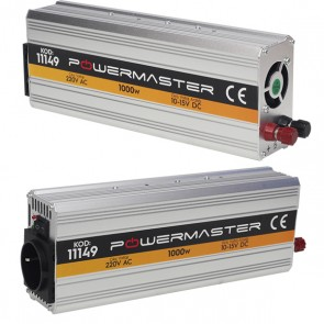 POWERMASTER PM-11149 12 VOLT 1000 WATT MODIFIED SINUS İNVERTER