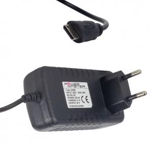 POWERMASTER PM-3498 12 VOLT - 2 AMPER MİNİ HDMI UÇLU POS MAKİNESİ ADAPTÖRÜ