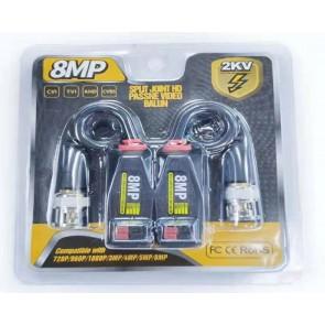 POWERMASTER PM-3889 8MP 1080P 2KV 250-400 METRE HD-TVI/CVI/AHD/CVBS HD VIDEO BALUN