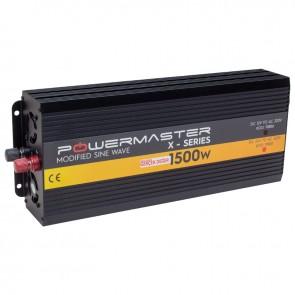 POWERMASTER PWR1500-12 TEK DIGITAL EKRAN 12 VOLT 1500 WATT MODIFIED SINUS WAVE İNVERTER