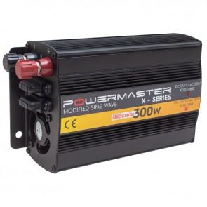 POWERMASTER PWR300-12 TEK DIGITAL EKRAN 12 VOLT 300 WATT MODIFIED SINUS WAVE İNVERTER