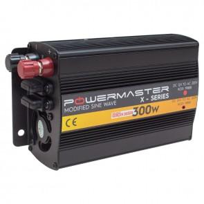 POWERMASTER PWR300-24 TEK DIGITAL EKRAN 24 VOLT 300 WATT MODIFIED SINUS WAVE İNVERTER