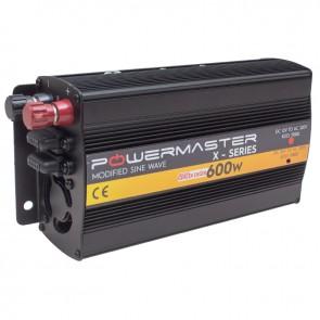 POWERMASTER PWR600-24 TEK DIGITAL EKRAN 24 VOLT 600 WATT MODIFIED SINUS WAVE İNVERTER