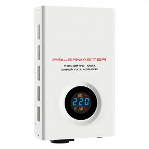 POWERMASTER SLIM-1000 OTOMATİK 1000 WATT VOLTAJ REGÜLATÖRÜ 1000VA (KOMBİ REGÜLATÖRÜ)