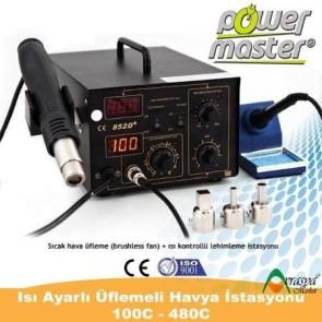 Powermaster 852D Digital Isı Ayarlı Havya