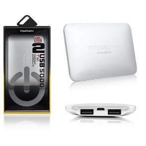 POWERWAY TX5 5000 MAH ÇİFT USB SUPERALLOY POWERBANK