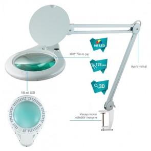 Prolink 1062D3Led Lambalı Akrobat Beyaz Büyüteç 3D Lens
