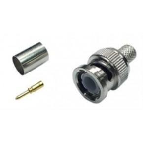Prolink Pr-K176 Bnc Konnektör,Rg6 (Erkek),Sıkmalı Tip