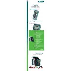 Proskit Mt-1860 Dijital Multimetre / Ölçü Aleti