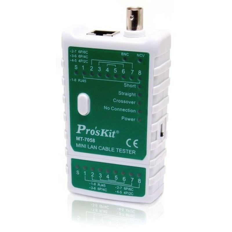 Proskit Mt-7058 Mini Lan Kablo Tester