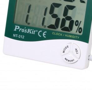 Proskit Nt-312 Problu Digital Sıcaklık Nem Ölçer