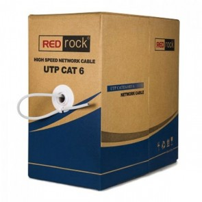 REDROCK U570FC UTP 23 AWG SAF BAKIR CAT6 KABLO
