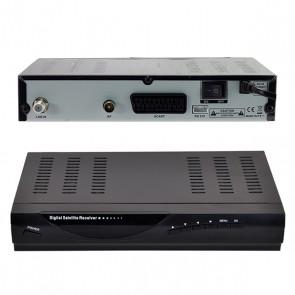 RİOSAT RSD-820 KASALI SD UYDU ALICISI  (RF*DSPLAY*SCART) * MAGBOX EXTREME