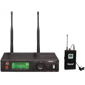 ROOF R-1100 KABLOSUZ UHF 1 YAKA TELSİZ MİKROFON