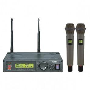 ROOF R-1200  2 EL 2 KANAL UHF KABLOSUZ TELSİZ MİKROFON