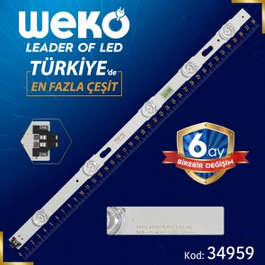 S_KU6K_43_FL30_R5_REV1.0 - LM41-002269A - LEFT - V6DU-430DCB-R2 - 38.3 CM 5 LEDLİ (WK-779)