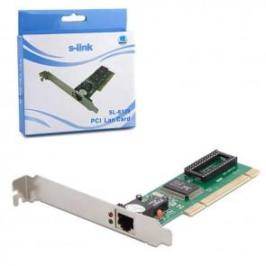 S-LINK SL-8139 10/100M PCI ETHERNET KARTI