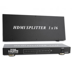 S-LINK SL-LU626 16 PORT 1080P 3D 16LI HDMI DAĞITICI