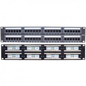 S-LINK SL-P648 48 PORT UTP CAT6 PATCH PANEL