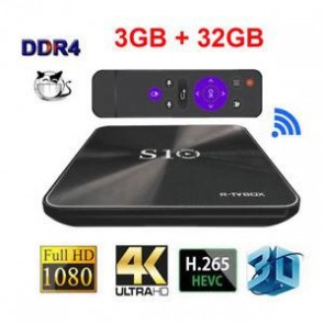 S10 R-TvBox Androıd Tv Box Android 4K UHD 3D