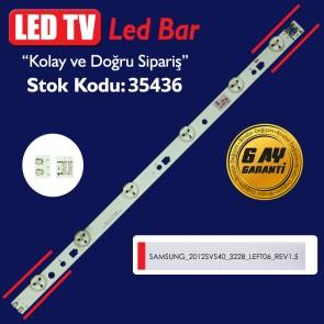 SAMSUNG 2012SVS40 3228 LEFT06 REV1.5 120412 - 38.5 CM 6 LEDLİ - (WK-275)