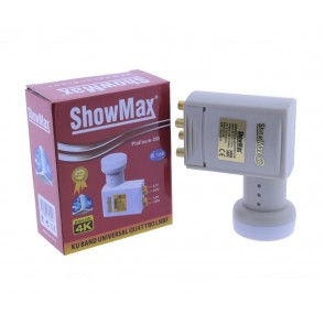ShowMax SH-555 Platinum Santral Lnb Universal Quattro Lnb