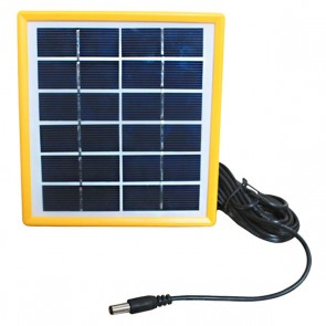 SINGLE SOLAR PANEL TEKLİ 6 VOLT 2 WATT 140*130*17MM 2.5 METRE KABLOLU