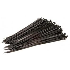 Siyah Kablo Bağı 100mmx2.5 (Naylon Kelepçe) 100 Adet