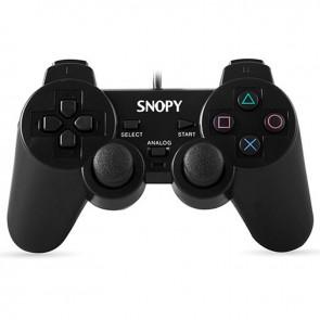 SNOPY SG-606 USB PS2/PS3/PC SİYAH JOYPAD OYUN KOLU