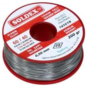 Soldex 0,50Mm 200Gr Lehim 60/40