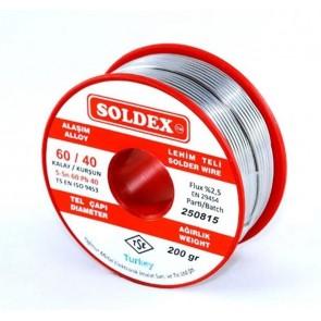 Soldex 1.20Mm 200Gr Lehim Teli 60/40