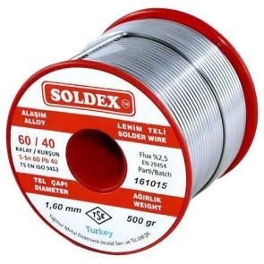 Soldex 1.60 mm 500 gr Lehim 60/40