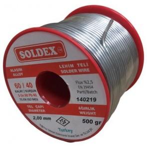 Soldex 2.0 mm 500 gr Lehim 60/40