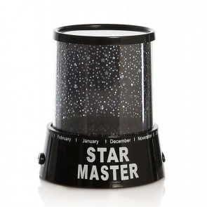 STARMASTER KLC-01 3 X KALEM PİLLİ + 5 VOLT YILDIZ YANSITMALI GECE LAMBASI 012-1351
