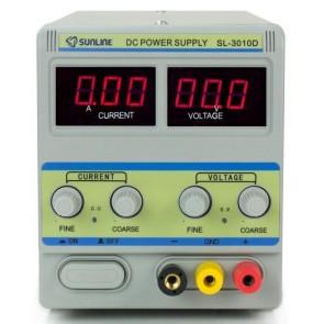 Sunline 3010D Ayarlı Güç Kaynağı DC 0-30V / 10A Power Supply