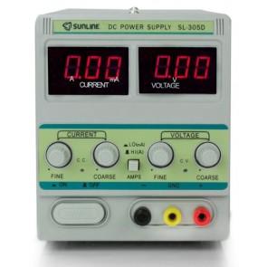 Sunline 305D Ayarlı DC Güç Kaynağı 0-30V / 5A Power Supply