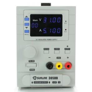 Sunline 305DB Ayarlı DC Güç Kaynağı 0-30V / 5A Power Supply USB