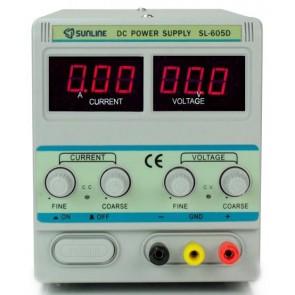 Sunline 605D Ayarlı Güç Kaynağı DC 0-60V / 5A Power Supply