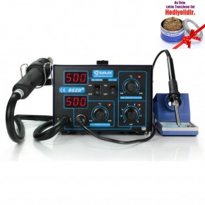 Sunline 852D+ Diyafram Sıcak Hava ve Lehimleme İstasyonu