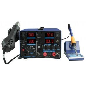 Sunline 853D+5A Havya İstasyonu ve Güç Kaynağı 5 Amper